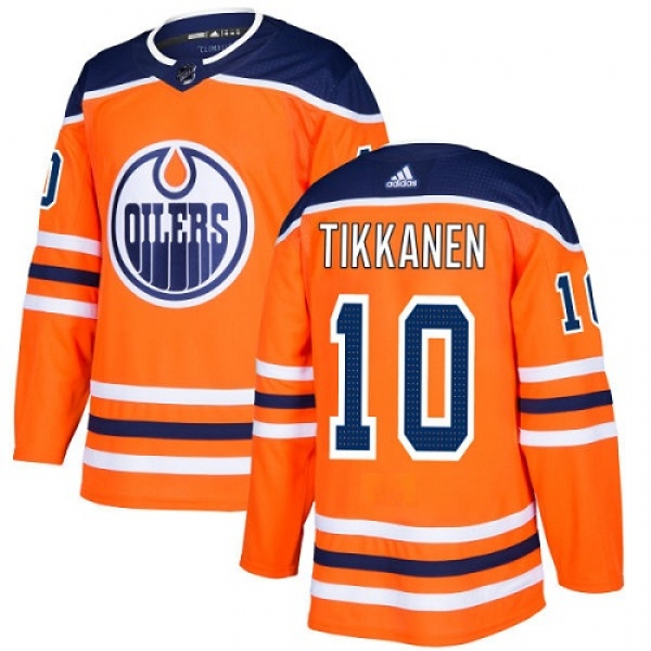 new product f81e5 2fa33 Youth Esa Tikkanen Edmonton Oilers Adidas Home Jersey - Authentic Orange -  Oilers Shop